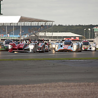 Copse Corner - Start of the race, Le Mans Series Silverstone 1000KM 2010