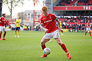 Nottingham Forest midfielder Jack Colback (6)   during the EFL Sky Bet Championship match between Nottingham Forest and Blackburn Rovers at the City Ground, Nottingham, England on 13 April 2019.