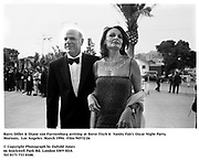 Barry Diller & Diane von Furstenburg arriving at Steve Tisch &  Vanity Fair's Oscar Night Party,<br />Mortons,  Los Angeles. March 1994.  Film 94572/26<br /> <br />© Copyright Photograph by Dafydd Jones<br />66 Stockwell Park Rd. London SW9 0DA<br />Tel 0171 733 0108.