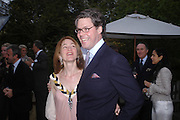Mr. and Mrs. Michael Hue-Williams. Cartier dinner after thecharity preview of the Chelsea Flower show. Chelsea Physic Garden. 23 May 2005. ONE TIME USE ONLY - DO NOT ARCHIVE  © Copyright Photograph by Dafydd Jones 66 Stockwell Park Rd. London SW9 0DA Tel 020 7733 0108 www.dafjones.com