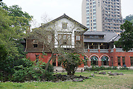 The Beitou Hot Spring Museum in Taiwan.