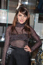 OPHELIA LOVIBOND at a party to celebrate the opening of the new Nicole Farhi global flagship store at 25 Conduit Street, London W1 on 19th September 2011.