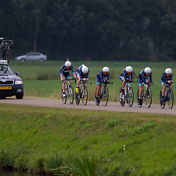 Boels Rental Ladies Tour CoevordenTTT 11th Team FuturumshopKaren Elzing, Sarah Roy, Anouska Koster, Mieke Kroger, Janine van der Meer, Mascha Pijnenborg