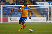 Krystian Pearce of Mansfield Town during the EFL Sky Bet League 2 match between Mansfield Town and Oldham Athletic at the One Call Stadium, Mansfield, England on 12 October 2019.