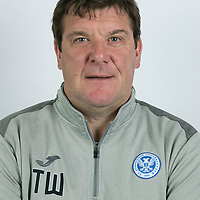 St Johnstone FC….Tommy Wright, Manager<br />Picture by Graeme Hart.<br />Copyright Perthshire Picture Agency<br />Tel: 01738 623350  Mobile: 07990 594431
