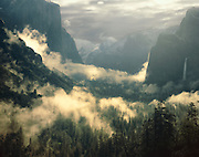 Spring storm, Yosemite Valley, Yosemite National Park,  California