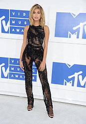Hailey Baldwin arriving at the MTV Video Music Awards at Madison Square Garden in New York City, NY, USA, on August 28, 2016. Photo by ABACAPRESS.COM  | 560634_011 New York City Etats-Unis United States