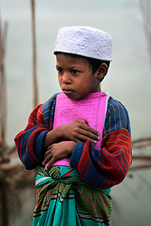 BANGLADESH SIRAJGANJ RADHUNIBARI 30JAN07 - Muslim boy dressed for school...jre/Photo by Jiri Rezac..© Jiri Rezac 2007..Contact: +44 (0) 7050 110 417.Mobile:  +44 (0) 7801 337 683.Office:  +44 (0) 20 8968 9635..Email:   jiri@jirirezac.com.Web:    www.jirirezac.com..© All images Jiri Rezac 2007 - All rights reserved.