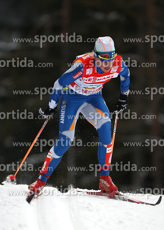 TOUR DE SKI 2010..© Pierre Teyssot / Sportida.com..Riikka SARASOJA during the 6th stage of the Tour de ski 2010 at Toblach - Dobbiaco in Italy, on Thursday Wednesday January the 7th 2010. The 3rd edition of Tour de ski will end on Sunday January the 10th in Val di Fiemme, Trentino, Italy. .