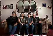 Three generations.  Colton, California.