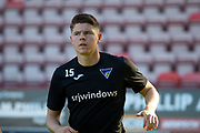 2nd Aug 2019, East End Park, Dunfermline, Fife, Scotland, Scottish Championship football, Dunfermline Athletic versus Dundee;  Kevin Nisbet of Dunfermline Athletic during the warm up before the match