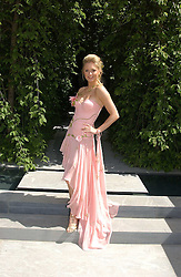 ANOUSKA DE GEORGIOU at the 2005 RHS Chelsea Flower Show on 23rd May 2005<br /><br />NON EXCLUSIVE - WORLD RIGHTS