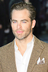 © Licensed to London News Pictures. 20/01/2014, UK. Chris Pine, Jack Ryan: Shadow Recruit - European Film Premiere, Vue West End, Leicester Square, London UK, 20 January 2014. Photo credit : Richard Goldschmidt/Piqtured/LNP