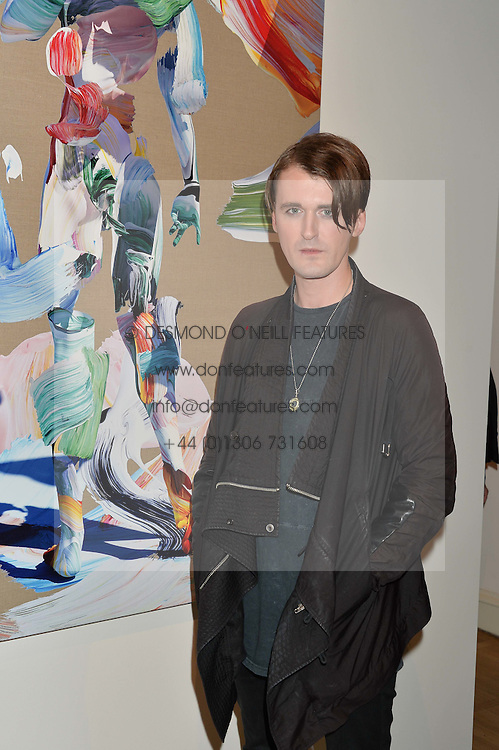 "GARETH PUGH at a private view of work by Matthew Stone ""Healing The Wounds' held at Somerset House, The Strand, London on 4th July 2016."