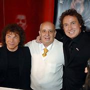 NLD/Utrecht/20060319 - Gala van het Nederlandse lied 2006, Ricardo Cocciante, vader Roberto Borsato en Marco Borsato