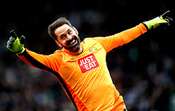 Scott Carson of Derby County celebrates Will Hughes of Derby County scoring a goal - Mandatory by-line: Robbie Stephenson/JMP - 11/12/2016 - FOOTBALL - iPro Stadium - Derby, England - Derby County v Nottingham Forest - Sky Bet Championship