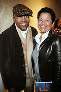 l to r: Kevin Lyles and Debra Lee at the Billboard's 3rd Annual Women in Music Breakfast held at St. Regis Hotel held on October 24, 2008..The Women in Breakfast was established to recognize extraordinary women in the music industry whii have made significant contributions to the business and who, through their hard work and continued success, inspire generations of women to take on increasing responsibilities within the field.