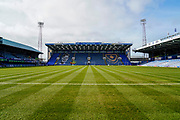 Fratton Park ahead of the EFL Sky Bet League 1 match between Portsmouth and Bradford City at Fratton Park, Portsmouth, England on 2 March 2019.