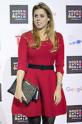 UNITED KINGDOM, London: 8 October 2015 Britain's Princess Beatrice of York arrives for the Women In The World summit in London, England. Picture by Andrew Cowie / Story Picture Agency