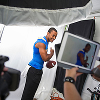 Brett Hundley at PAC 12 Media Day for Sports Illustrated