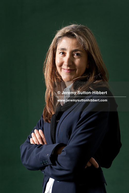 Ingrid Betancourt, former captive in Colombia and Colombian presidential candidate in 2002, at the annual Edinburgh International Book Festival, in Edinburgh, Scotland, Monday 29th August 2011.