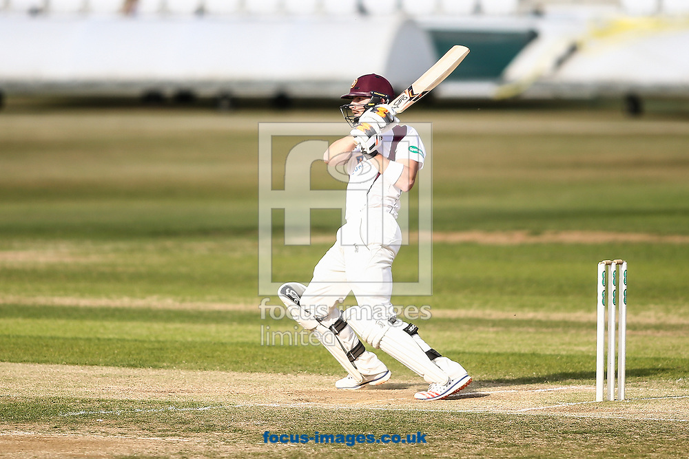 Rob Keogh of Northamptonshire CCC during the Specsavers County C'ship Div Two match at the County Ground, Northampton<br /> Picture by Andy Kearns/Focus Images Ltd 0781 864 4264<br /> 14/08/2016