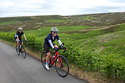 Cyclists in the Peak District's GOYT VALLEY
