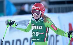 29.12.2017, Hochstein, Lienz, AUT, FIS Weltcup Ski Alpin, Lienz, Riesenslalom, Damen, 2. Lauf, im Bild Ana Drev (SLO) // Ana Drev of Slovenia reacts after her 2nd run of ladie's Giant Slalom of FIS ski alpine world cup at the Hochstein in Lienz, Austria on 2017/12/29. EXPA Pictures © 2017, PhotoCredit: EXPA/ Erich Spiess