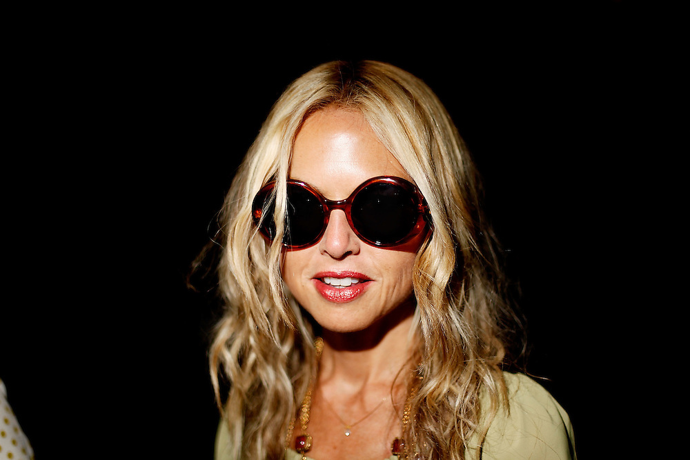 NEW YORK - SEPTEMBER 14:  Rachel Zoe attends Thakoon Spring 2010 during Mercedes-Benz Fashion Week at Eyebeam on September 14, 2009 in New York City.  (Photo by Joe Kohen/WireImage)