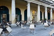 Café Restaurant Henrici, Eisenstadt.Architektur: Irmgard Frank