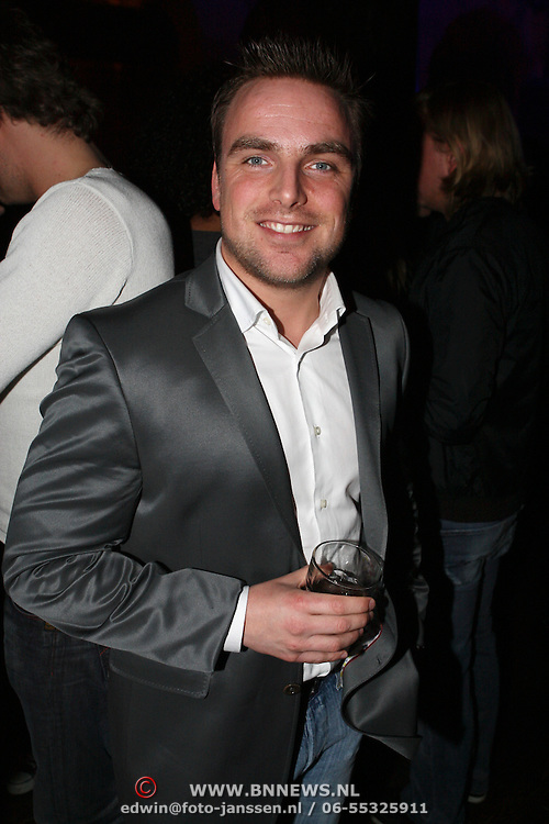 NLD/Amsterdam/20080407 - Launchparty platenmaatschappij 21st Century Music, Jeroen Post