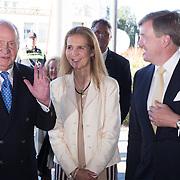 NLD/Scheveningen/20180630 - Koning bij Award Diner Volvo Ocean Race, Koning Willem Alexander, Koning Juan Carlos en prinses Elena