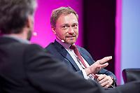 08 JAN 2018, KOELN/GERMANY:<br /> Christian Lindner, FDP Bundesvorsitzender, waehrend einer Diskussion, Jahrestagung 2018 des Deutschen Beamtenbundes und Tarifunion, dbb, Messe Koeln<br /> IMAGE: 20180108-01-276<br /> KEYWORDS: K&ouml;ln