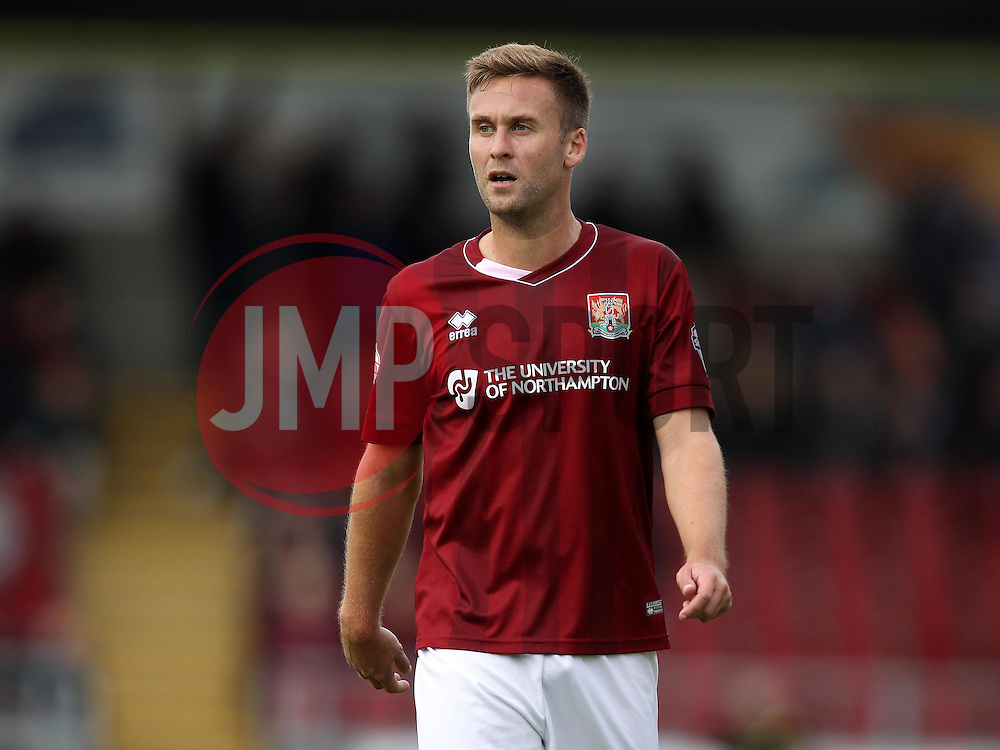 Joel Byrom of Northampton Town - Mandatory byline: Robbie Stephenson/JMP - 07966 386802 - 10/10/2015 - FOOTBALL - Sixfields Stadium - Northampton, England - Northampton Town v Hartlepool - Sky Bet League Two