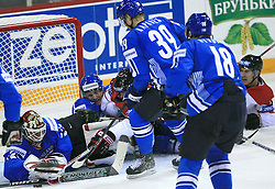 Goalkeeper of Finland Niklas Backstrom at ice-hockey game Canada vs Finland at Qualifying round Group F of IIHF WC 2008 in Halifax, on May 12, 2008 in Metro Center, Halifax, Nova Scotia, Canada. Canada won. (Photo by Vid Ponikvar / Sportal Images)