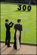 MR AND MRS. LAURA TRIMBLE; ANDREW TRIMBLE, The Tercentenary Ball, Worcester College. Oxford. 27 June 2014