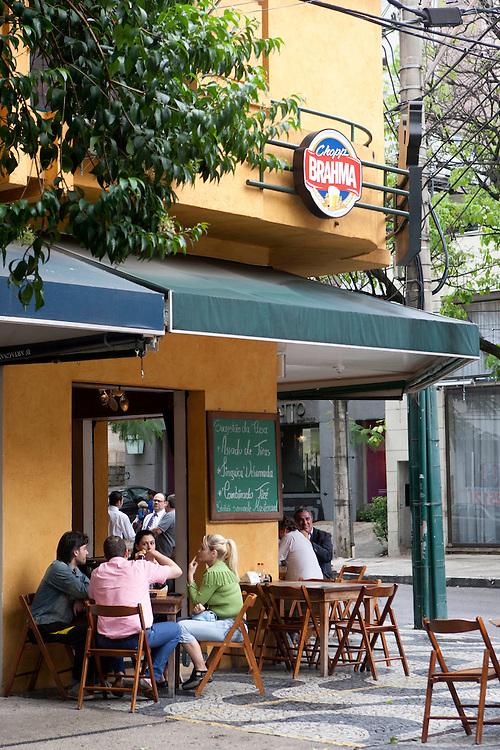 Belo Horizonte_MG, Brasil.<br /> <br /> Bar e Butequim Tize, que fica no bairro Lourdes, um bairro nobre de Belo Horizonte e fica na regiao central da cidade.<br /> <br /> Butequim Tize bar in Lourdes neighborhood in Belo Horizonte, Its south region of the city.<br /> <br /> Foto: EMMANUEL PINHEIRO / NITRO