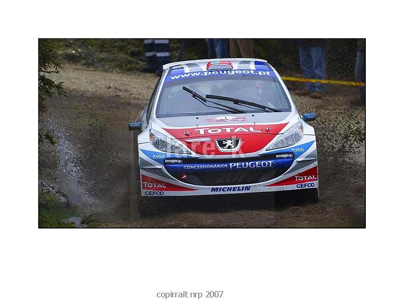 rallye torri&eacute;<br /> Vieira de minho<br /> portugal 2007