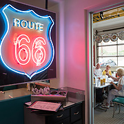 Route 66 Diner in Albuqurque, New Mexico