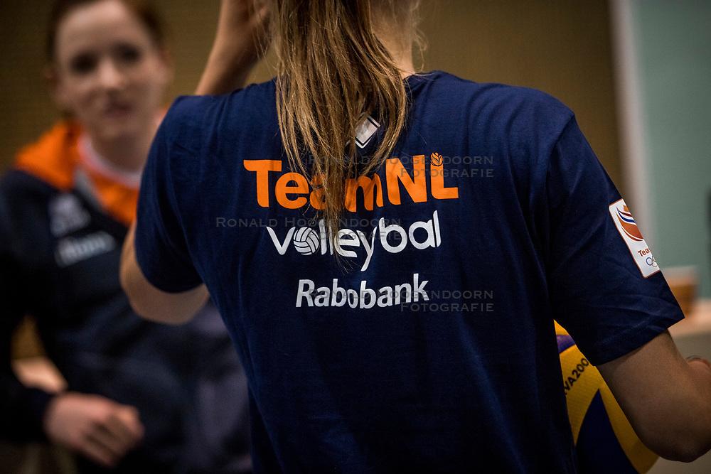 10-05-2018 NED: Training Dutch volleyball team women, Arnhem<br /> Nika Daalderop #19 of Netherlands