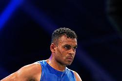 17-11-2019 NED: World Port Boxing Netherlands - Kazakhstan, Rotterdam<br /> 3rd World Port Boxing in Excelsior Stadion Rotterdam / Delano James (NED), 69 kg class