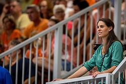 28-08-2016 NED: Nederland - Slowakije, Nieuwegein<br /> Het Nederlands team heeft de oefencampagne tegen Slowakije met een derde overwinning op rij afgesloten. In een uitverkocht Sportcomplex Merwestein won Nederland met 3-0 van Slowakije / Nevobo VIP Veva