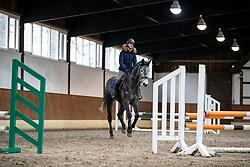 Kombination reiten<br /> Herford - Springtraining mit Lars Meyer zu Bexten 2019<br /> 16. Januar 2019<br /> © www.sportfotos-lafrentz.de/Stefan Lafrentz