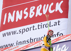 Pascal Bodmer of Germany after he competed during Final round of the FIS Ski Jumping World Cup event of the 58th Four Hills ski jumping tournament, on January 3, 2010 in Bergisel, Innsbruck, Austria.(Photo by Vid Ponikvar / Sportida)