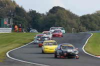 #7 Harris / Selby Ford Puma 1596 during the CSCC Tin Tops at Oulton Park, Little Budworth, Cheshire, United Kingdom. October 15 2016. World Copyright Peter Taylor/PSP. <br /> Copy of publication required for printed pictures.  Every used picture is fee-liable. http://archive.petertaylor-photographic.co.uk