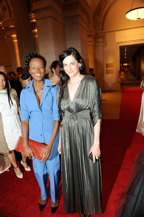 "Costume Gala for ""American Woman: Fashioning a National Identity"" at the Metropolitan Museum of Art on May 3, 2010."