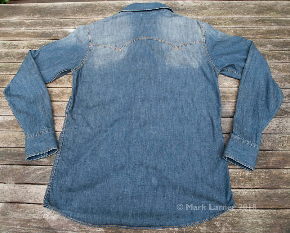 Picture shows Pace Jeans PM122-899 Sawtooth Denim Shirt.<br /> <br /> 22/10/2013.<br /> See more at www.new-utility.co.uk<br /> <br /> Credit should read: Picture by Mark Larner<br /> NO UNAUTHORISED USAGE