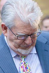 London, June 10th 2014. Veteran entertainer asnd artist Rolf Harris arrives at Southwark Crown Court as closing statements are expected in his trial on 12 counts of indecent assault against 4 girls aged 7 to 19.