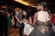DARSHANA SHAH;, London Lifestyle Awards. Riverbank Park Plaza. London.6 October 2011. <br /> <br />  , -DO NOT ARCHIVE-© Copyright Photograph by Dafydd Jones. 248 Clapham Rd. London SW9 0PZ. Tel 0207 820 0771. www.dafjones.com.