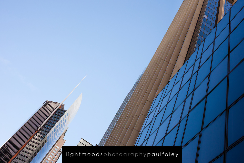 Modern highrise bulidings in the Sydney CBD and Financial District, Australia